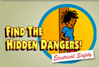 Play Find the Hidden Dangers: Electricity Game