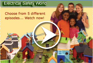 Video. Electrical Safety World.  Choose from 5 different episodes... Watch now!